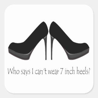 Black Heels Sticker