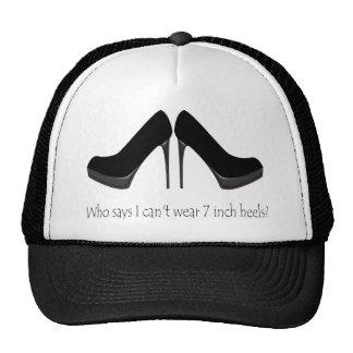 Black Heels Trucker Hat