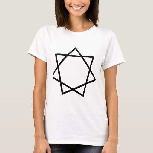 Black Heptagram T-Shirt
