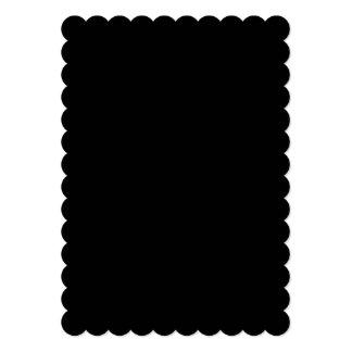 Black High End Colored 5x7 Paper Invitation Card