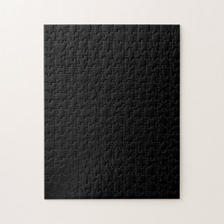 Black High End Colored Jigsaw Puzzle