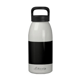 Black High End Colored Drinking Bottle