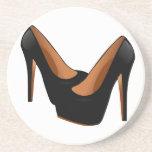 Black High Heels Coasters