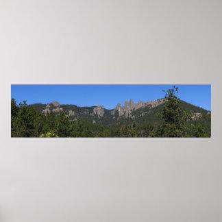 Black Hills 53 panorámicos Póster