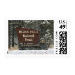 Black Hills National Forest Photo Postage Stamp
