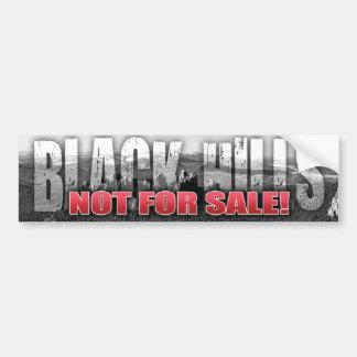 Black Hills no para la pegatina para el parachoque Pegatina De Parachoque