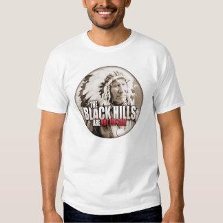 Black Hills Not For Sale White Men's Tshirt