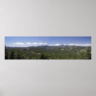 Black Hills Panoramic 39 Poster