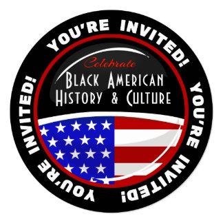 Black History Event Customizable Invitations