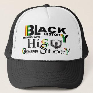 Black History - hiS-Story© Hat-Blk Trucker Hat