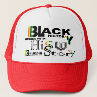 Black History - hiS-Story© Hat-RED Trucker Hat
