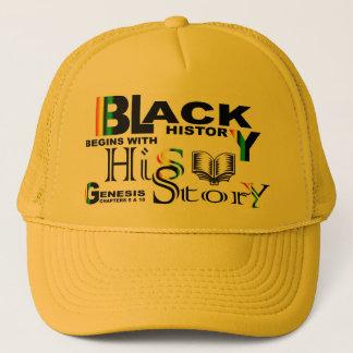 Black History - hiS-Story© Hat-Ylw Trucker Hat