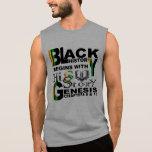 Black History-HiSStory Men's Sleeveless Sleeveless Tee