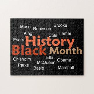 Black History Jigsaw Puzzles