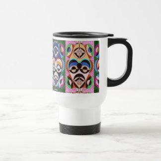 Black History MASCOT Art : HelpLess in Washington Travel Mug