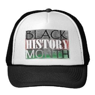 Black History Month African Flag Trucker Hat