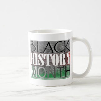 Black History Month African Flag Coffee Mug