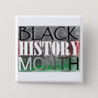 Black History Month (African Flag) Pinback Button
