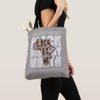 Black History Month. African Roots Tote Bag