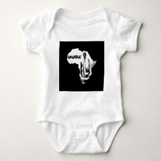 Black History Month - AMANDLA! Baby Bodysuit