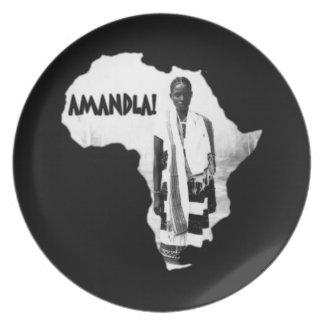 Black History Month - AMANDLA! Dinner Plate