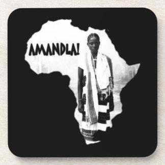 Black History Month - AMANDLA! Drink Coaster