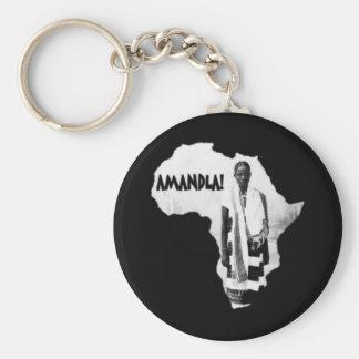 Black History Month - AMANDLA! Keychain