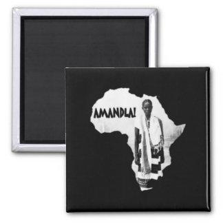 Black History Month - AMANDLA! Refrigerator Magnet