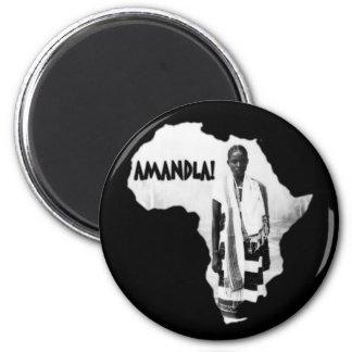 Black History Month - AMANDLA! Magnet