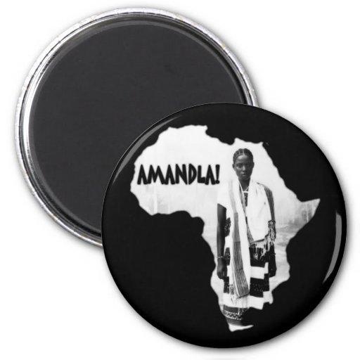 Black History Month - AMANDLA! Magnets