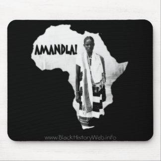 Black History Month - AMANDLA! Mouse Pad