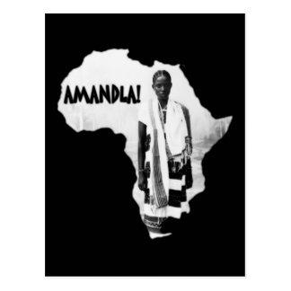 Black History Month - AMANDLA! Postcard