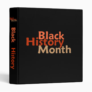 BLACK HISTORY MONTH Avery Binder
