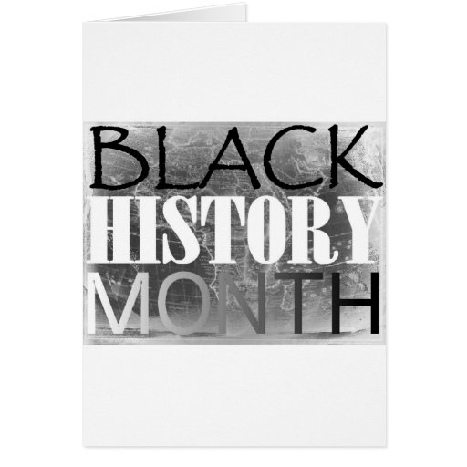 Black History Month Cards