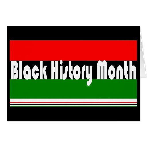 Black History Month Greeting Card