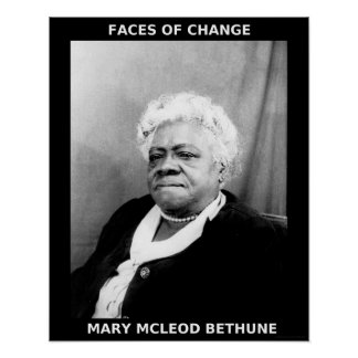 Black History Month Heroes - Mary McLeod Bethune Posters