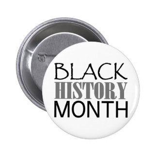 Black History Month Pinback Button