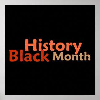 BLACK HISTORY MONTH POSTER Print