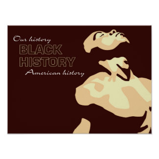 Black History Our History Medium Poster