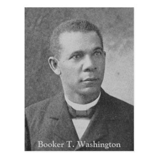 Black History Picture of Booker T. Washington Postcard