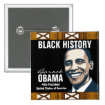 BLACK HISTORY PINBACK BUTTONS