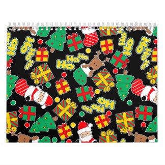 Black - Ho Ho Santa Calendar