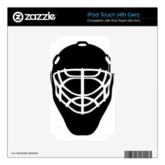 Black Hockey Mask Skin For iPod Touch 4G