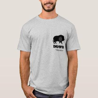 Black Hog Down! Bucknutz Hunting Club T-Shirt