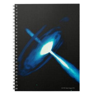 Black Hole 2 Spiral Notebook