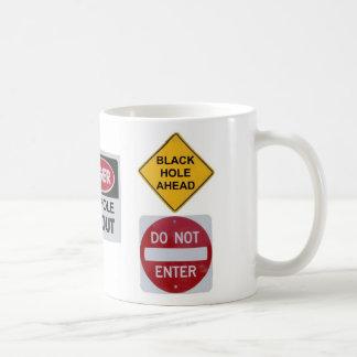 Black Hole Ahead mug