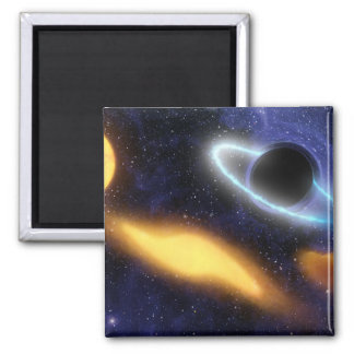 Black Hole and Star Magnet
