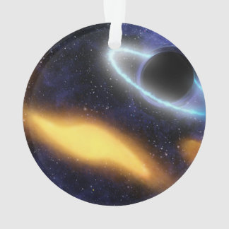 Black Hole and Star Ornament
