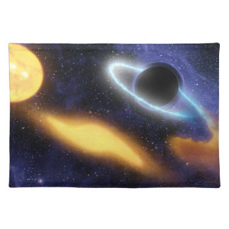 Black Hole and Star Placemat
