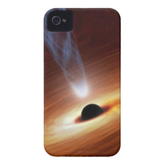 Black Hole Astronomy Space Art iPhone 4 Cover